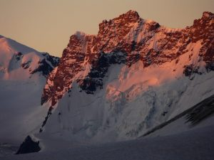 Younggraat op de Breithorn